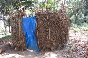 The Water Project: Lokomsama, Lumpa Wallah Village -  Bathing Shelter