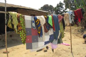 The Water Project: Lokomsama, Lumpa Wallah Village -  Clothesline