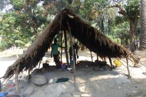 The Water Project: Lokomsama, Lumpa Wallah Village -  Kitchen