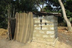 The Water Project: Lokomsama, Lumpa Wallah Village -  Latrine