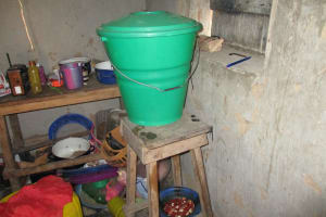 The Water Project: Lokomsama, Lumpa Wallah Village -  Water Storage