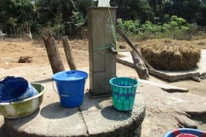 The Water Project: Lokomsama, Lumpa Wallah Village -  Main Well