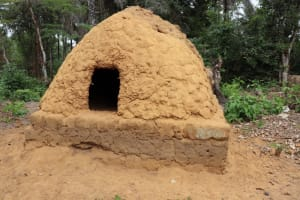 The Water Project: Kamasondo, Robombeh Village, Next to Mosque -  Bread Baking Oven
