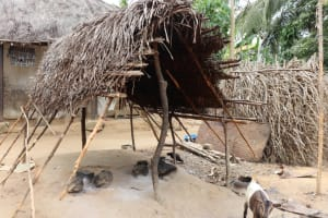 The Water Project: Kamasondo, Robombeh Village, Next to Mosque -  Kitchen