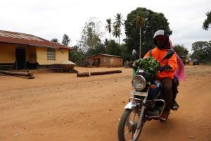 The Water Project: Kamasondo, Robombeh Village, Next to Mosque -  Motor Bike Transportation