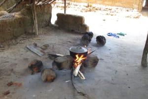 The Water Project: Lokomasama, Modia Dee -  Inside Kitchen