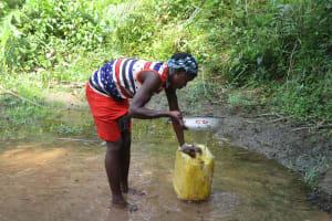 The Water Project: Lokomasama, Modia Dee -  Woman Collecting Water