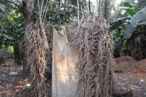 The Water Project: Lokomasama, Rotain Village -  Bath Shelter