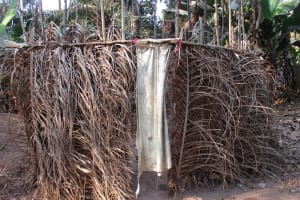 The Water Project: Lokomasama, Rotain Village -  Latrine