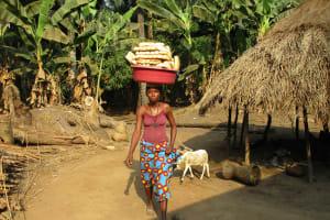 The Water Project: Lokomasama, Rotain Village -  Woman Selling Bread