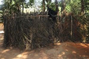 The Water Project: Lokomasama, Satamodia Village -  Bath Shelter