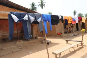 The Water Project: Polloth Village, Kroo Town Area -  Clothes Line