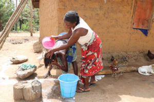 The Water Project: Polloth Village, Kroo Town Area -  Hair Washing