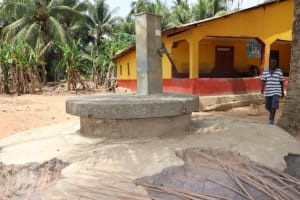 The Water Project: Polloth Village, Kroo Town Area -  Main Water Source