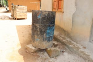 The Water Project: Polloth Village, Kroo Town Area -  Water Storage