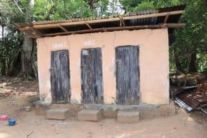 The Water Project: Polloth Village, Loco Area -  Latrine