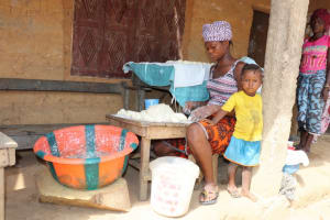 The Water Project: Polloth Village, Loco Area -  Processing Bread