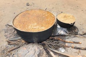 The Water Project: Polloth Village, Loco Area -  Rice Seed Boiling