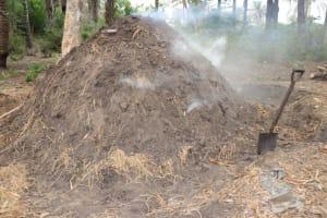 The Water Project: Kamasondo, Masinneh Village -  Charcoal Processing
