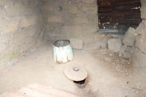 The Water Project: Kamasondo, Masinneh Village -  Inside Latrine