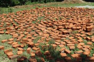The Water Project: Friends School Ikoli Secondary -  Bricks Lay Ready