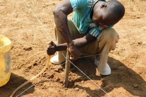 The Water Project: Sawawa Secondary School -  Level Marker For Excavation