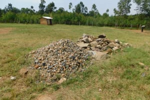 The Water Project: Khwihondwe SA Primary School -  Construction Materials