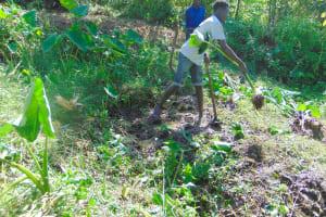 The Water Project: Mubinga Community, Mulutondo Spring -  Site Clearance