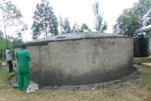 The Water Project: Khwihondwe SA Primary School -  Dome Work