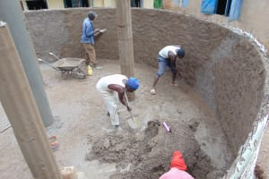 The Water Project:  Wall And Pillar Work