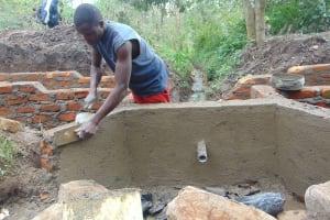 The Water Project: Mubinga Community, Mulutondo Spring -  Cement Work