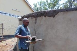 The Water Project: Friends School Ikoli Secondary -  Finishing Dome Work