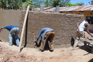 The Water Project:  Outer Cement Work