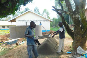 The Water Project: Hobunaka Primary School -  Sifting Materials