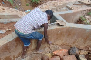 The Water Project: Kitulu Community, Kiduve Spring -  Clayworks