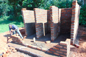 The Water Project: Bumbo Primary School -  Stalls Take Shape