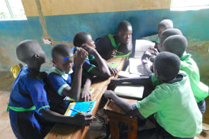 The Water Project: Khwihondwe SA Primary School -  Group Discussion