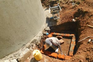 The Water Project: Hobunaka Primary School -  Building Access Point To Tap