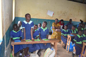 The Water Project: Khwihondwe SA Primary School -  Reaction From A Pupil
