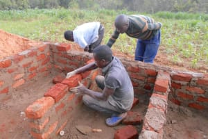 The Water Project: Bugute Lutheran Primary School -  Brick By Brick