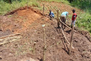 The Water Project: Maondo Community, Ambundo Spring -  Fencing