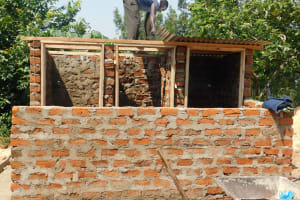 The Water Project: Sawawa Secondary School -  Roofing The Latrines