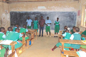 The Water Project: Bumbo Primary School -  Elected Student Health Club Leaders