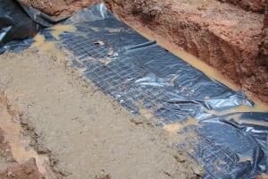 The Water Project: Imusutsu Community, Ikosangwa Spring -  Foundation Laying