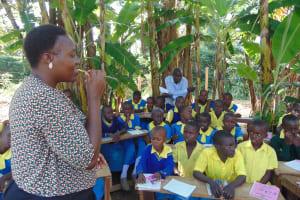 The Water Project:  Trainer Karen Maruti Demonstrates Dental Hygiene Using Chewed Stick