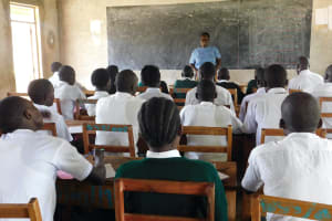 The Water Project: Sawawa Secondary School -  Training Begins In The Classroom