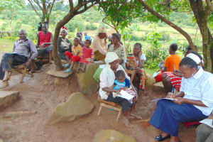 The Water Project: Musiachi Community, Mutuli Spring -  Training Participants