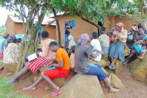The Water Project: Musiachi Community, Mutuli Spring -  Learning Handwashing Steps
