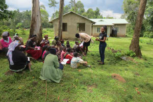 The Water Project: Rosterman Community, Lishenga Spring -  Training