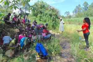 The Water Project: Bukhaywa Community, Shidero Spring -  Training